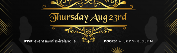 Miss Ireland 2018 launch event