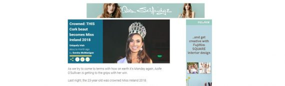 This Cork beauty crowned Miss Ireland  – She Amazing.net