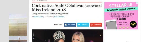Cork native wins Miss Ireland  – VIP